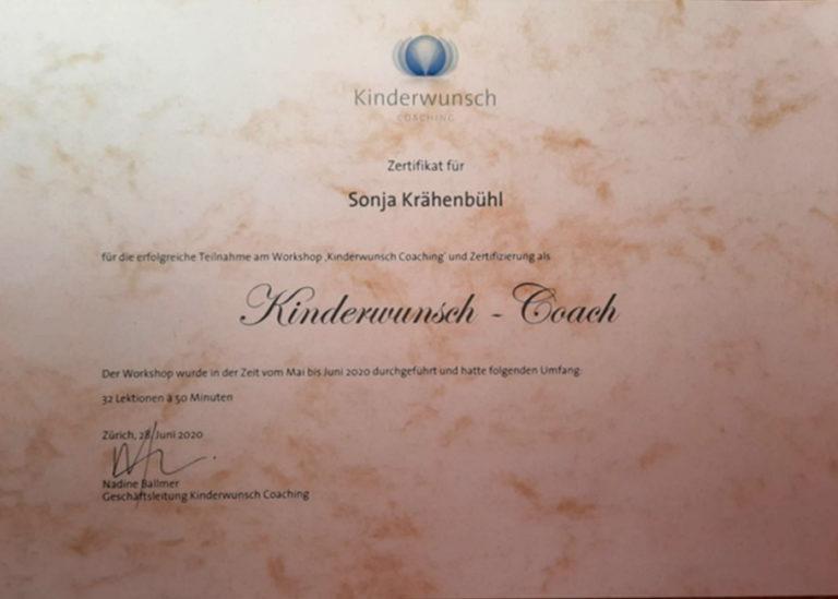 Kinderwunsch-Coach Zertifikat